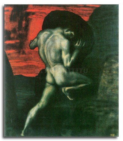 Sisyphus by Franz von Stuck 06851