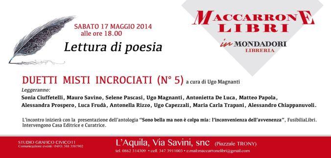 L'Aquila, 17 maggio 2014