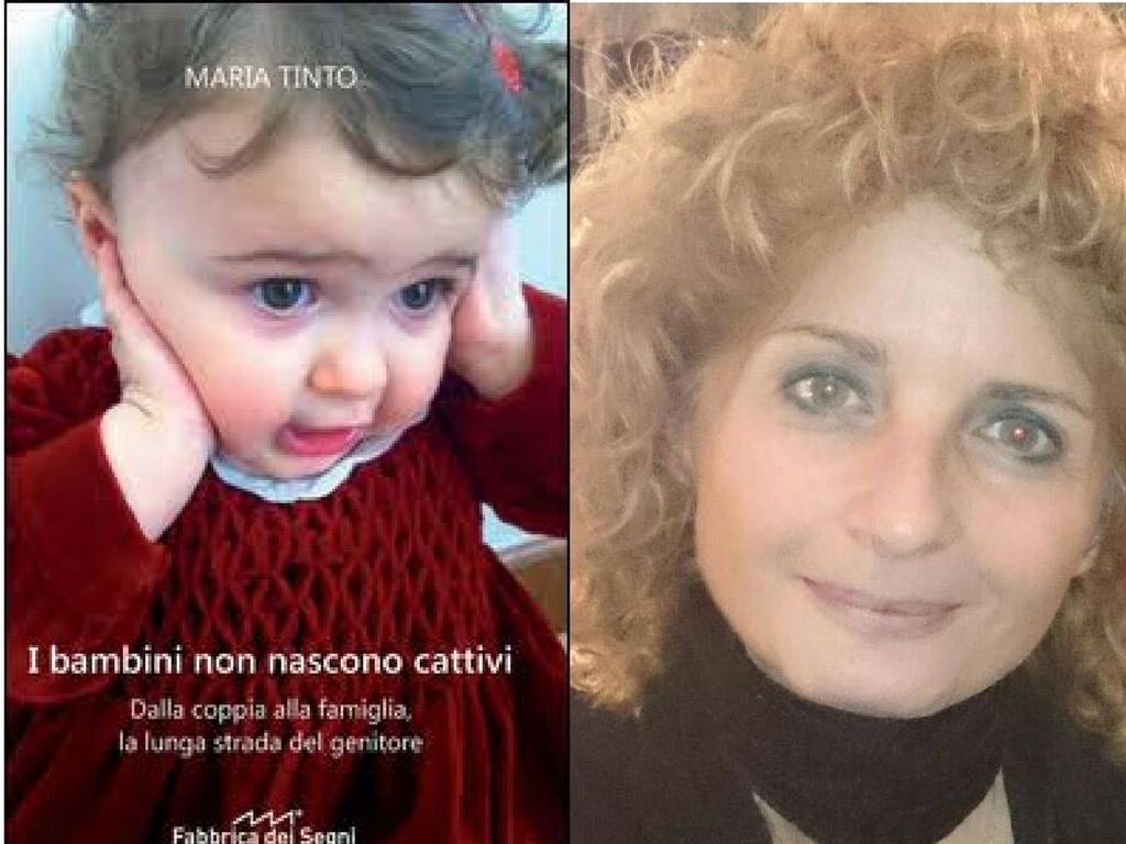 """""""I bambini non nascono cattivi"""" il libro di Maria Tinto a L'Arco diAprilia"""