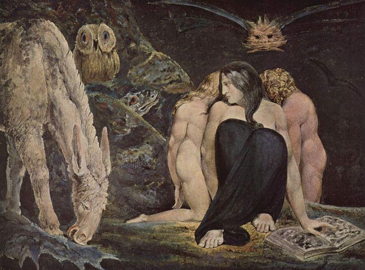 Hecate - W. Blake